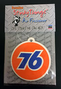 Union 76 Unocal Air Freshener Orange And Blue Buy 5 Get 1 Free Car Auto Sign
