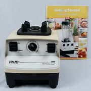 Motor Base Only Vitamix Drink Mixer And Getting Started Book Vintage Working