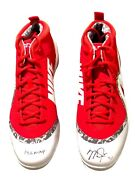 Mike Trout Hand Signed Autographed Angels 14/16 Al Mvp Nike Cleats Steiner Le