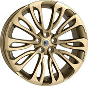Alloy Wheels 23 Hawke Halcyon Gold For Land Rover Range Rover [l322] 02-12