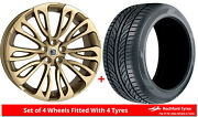 Alloy Wheels And Tyres 23 Hawke Halcyon For Range Rover Sport Lw 13-20