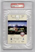 Psa 9 1999 Baseball Ticket For The Final Game Ever Played Detroit Tiger Stadium