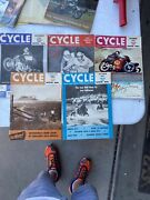 Vintage Cycle Largest Monthly Motorcycle Magazines Lot Of 5 Bmw Harley Triumph