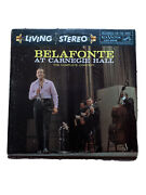 Harry Belafonte At Carnegie Hall 2 Lp Lso-6006 Living Stereo 1959