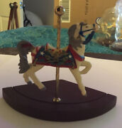 Princeton Gallery Carousel Birthstone Holiday Horse Memorial Day 1995 Retired