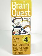 Brain Quest Grade 4 - 1500 Questions And Answers To Challenge The Mind