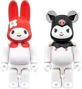 Bearbrickmy Melody Red Melody Version And Kuromi 2 Pac100 Medicom Toy Be@rbrick