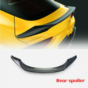 Forged Carbon Look Trunk Spoiler Rear Wing For 19+ Toyota Supra A9