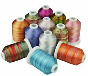 Embroidery Thread 1000 Meters Each Hand Sewing Over Locking On Any Home Machines
