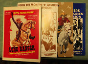 The Lone Ranger Lot Of Books Vhs Cassette Tapes Collectors Lot New Sealed Items