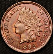 1899 Indian Head Penny,ms +++++