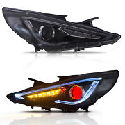 Customized Led Demon Headlight With Drl For Sonata 11-14 Gls Limited Se 11-13 Gl