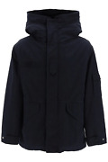 New Mr And Mrs Italy Midi Curtain Parka With Removable Fur Interior Kmp0013 Night