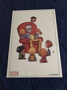 Amazing Spider-man 9 Skottie Young Litho C2e2 Exclusive Not Signed By Stan Lee