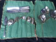 Gorham Camellia Sterling Silver 8 Place Setting Plus Serving Utensils