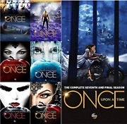 Once Upon A Time Complete Tv Series All Seasons 1-7 Dvd Set Collection Episodes