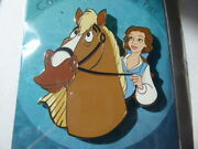 Disney Trading Pins Artland Princess And Horse - Belle And Phillipe