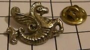 Air France Airlines Old Logo Winged Seahorse Variant 3 Vintage Pin Badge