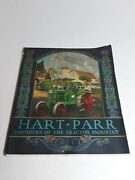 1928 Hart Parr Founders Of The Tractor Industry Booklet Rare