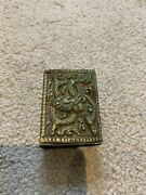 Antique Indian Silver Matchbox Cover