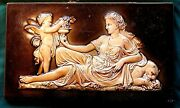 Wedgwood - Fireplace Wall Mantel Decoration / Made In England - Early 1800's