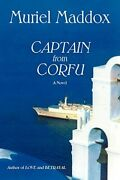 Captain From Corfu Softcover By Maddox, Muriel Paperback Book The Fast Free
