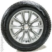 """New Chevy Silverado 20"""" Grey Machined High Country Factory Oem Wheels Rims Tires"""