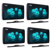 Pyle Pl1sn104 Touch Screen In-dash Single Din Player W/ Back Up Camera 4 Pack