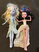 2010 And 2013 Monster High Articulating Joints Dolls Vampire