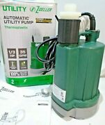 Zoeller 1/3 Hp Automatic Thermoplastic Submersible Utility Sump Pump 1043-0006