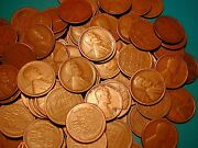 Lincoln Wheat Cent Penny Roll Mixed Twenties All Mintmarked Dands Mints Only