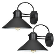 Dewenwils 2 Pack Dusk To Dawn Wall Light Fixtures Outdoor Wall Sconce Farmhouse