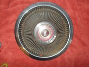 1969-1970and039s Mercury Fomoco 15 Hubcap Turbine Finned Wheel Cover Ford Lincoln