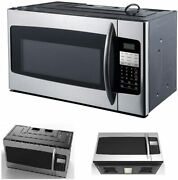 1.6 Cu. Ft. Over The Range Microwave Stainless Steel Sensor Cooking Kids Meals