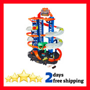 Hot Wheels City Robo T-rex Ultimate Garage Multi-play Mode Stores Cars Gift