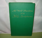 New World Translation Of The Holy Scriptures Religious Book 1961