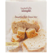 4 Boxes Of Tastefully Simple Beer Bread Value Pack 3 Packages 12 And 3 Spinach He