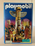 Playmobil 3873 Totem Pole Warriors 1996 New Old Stock Never Out Of Box