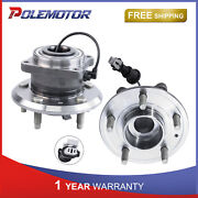 Pair Rear Wheel Bearing Hub Assembly W/ Abs For Chevy Equinox Pontiac Torrent