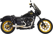 Bassani Ripper Stainless 2-1 Full Exhaust 91-17 Harley Dyna Fxd Fxdl Fxdb Fxdwg