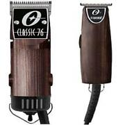 Oster Classic 76 + T-finisher Woodgrain Color Pro Barber