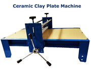 New 3422 Ceramic Clay Plate Machine Heavy Duty Slab Roller For Clay Adjustable