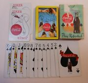 Vintage Coca Cola 1958 Refresh Deck Of Playing Cards