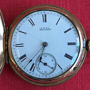 Lady's 1884 American Waltham Watch Co. Pocket Watch, Working, Gold Filled Case