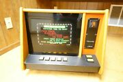 Rare 1983 Merit Industries Pit Boss Fully Functional Working Arcade Game