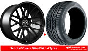 Alloy Wheels And Tyres 20 Cades Hera For Mercedes Gle-class Coupe [c292] 15-19