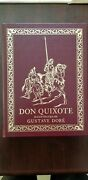 The Easton Press Don Quixote Illustrated By Gustave Doré Leatherbound Edition