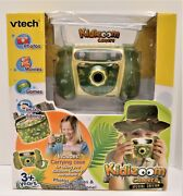 New Vtech Camo Special Edition Kidizoom Camera Photos Movies Games Durable