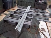 One...military Surplus Temper Tent Arch Leg Frame Section Us Army..rare