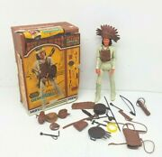 Marx Johnny West Series Geronimo W/near Complete Accessories Box Top And Manual